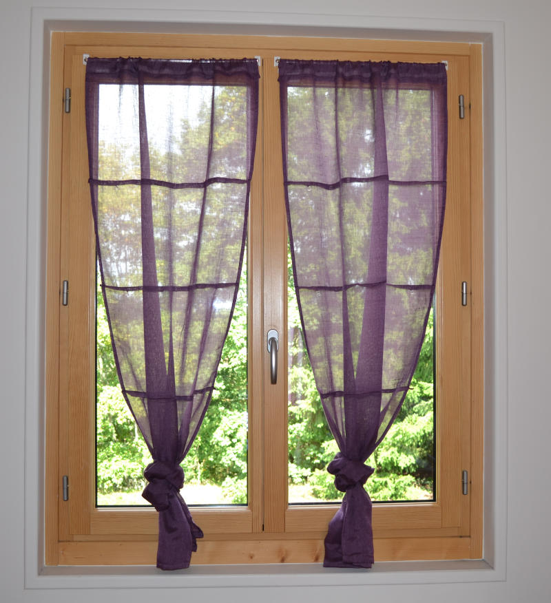 fenêtre en bois aluminium