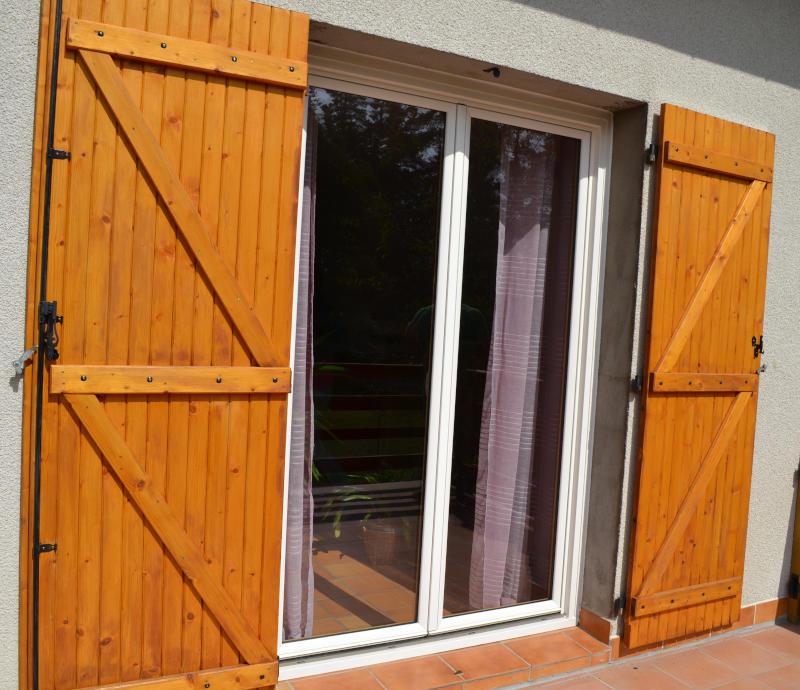 porte fenêtre en bois aluminium